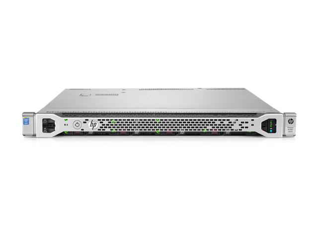 Вид спереди сервера HPE ProLiant DL360 Gen9 10SFF