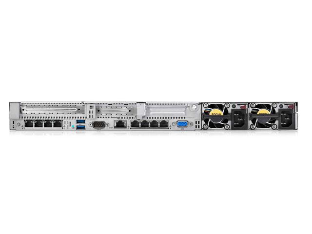 Вид сзади сервера HPE ProLiant DL360 Gen9
