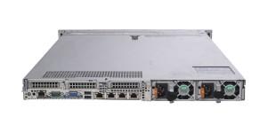 Вид сзади сервера Dell PowerEdge R640