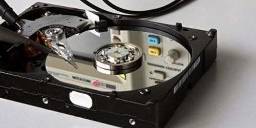 Восстановление данных с жёстких дисков